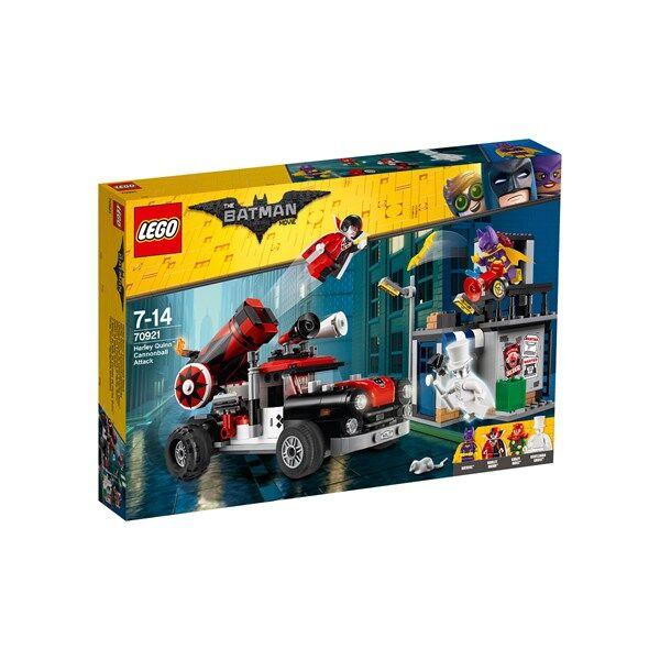 Lego Harley Quinn™ ja tykinkuulahyökkäys, LEGO Batman Movie (70921)