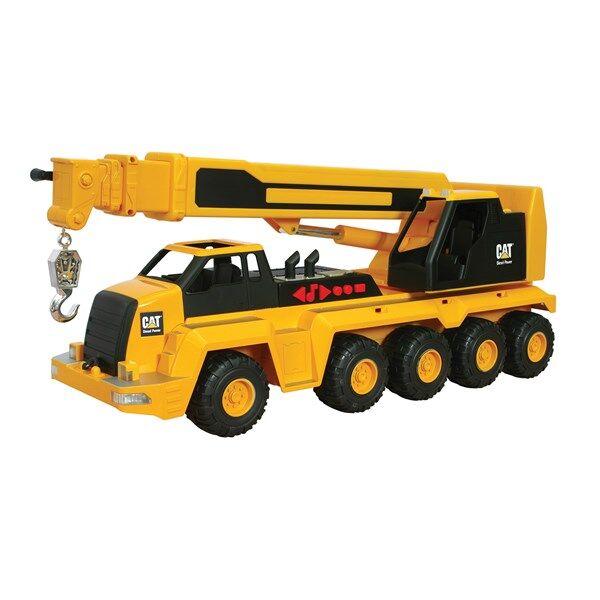 Image of Massive Machine 10-Wheel Crane L&S, CAT