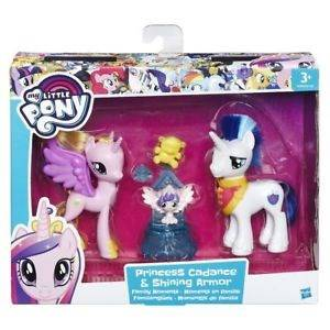 My little ponny 2-pack, Princess Cadence & Shining Armour