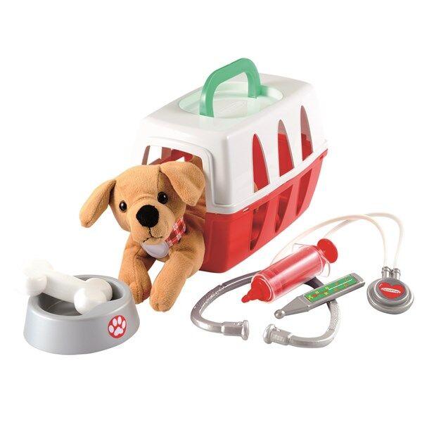 Veterinärväska med hundvalp, Ecoiffier