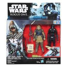 Star Wars Rogue One Delux Figure 2 kpl Rebel Commando Pao & Death Trooper