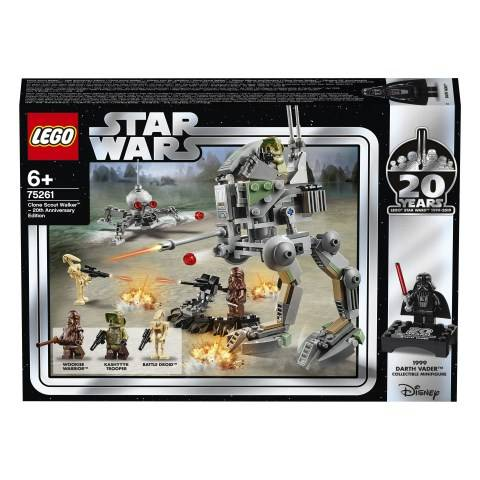 Lego Clone Scout Walker™ – 20-årsjubileumsutgåva, LEGO Star Wars (75261)
