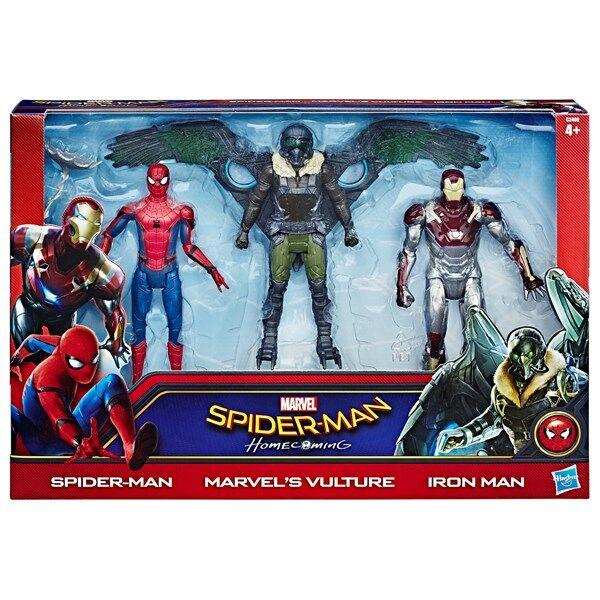 Spiderman Web City Figure 3 kpl 15 cm