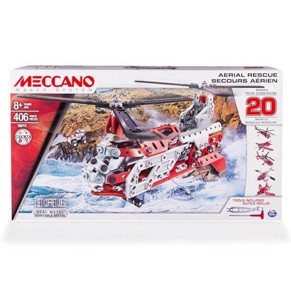 Aerial Rescue 20in1, Meccano
