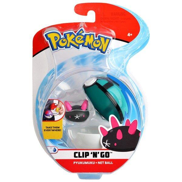 Pokémon Clip N Go, Pyukumuku & net ball