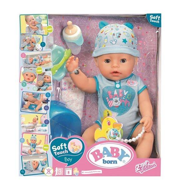 Baby Born Interaktiv Pojke 43 cm, BABY born