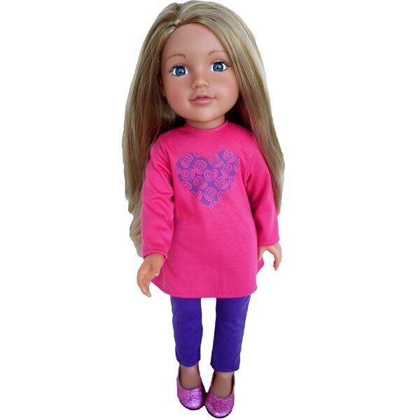 Isabella doll, 46 cm, Design a Friend