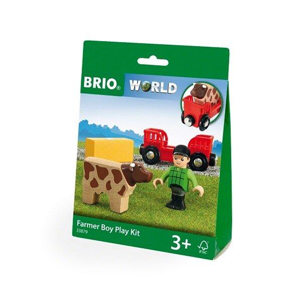 Brio World - 33879 Leksakskit med bondpojke