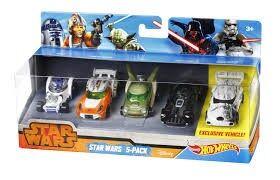 Hot Wheels Light Vs. Dark Side 5 Pack, Star Wars