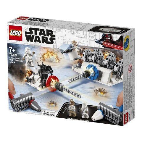 Lego Action Battle Hoth™ Generator Attack, LEGO Star Wars (75239)