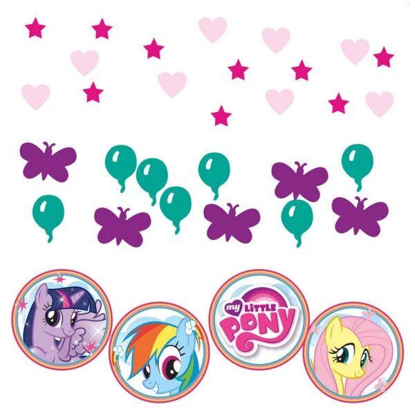 My Little Pony Koristekonfetti
