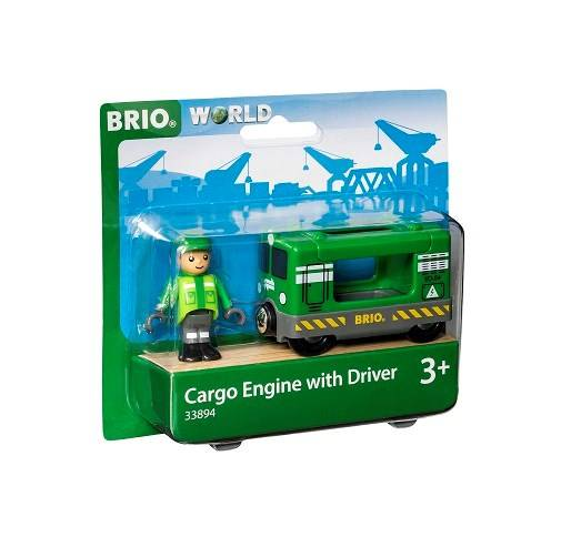 Brio World - 33894 Lastlok med förare