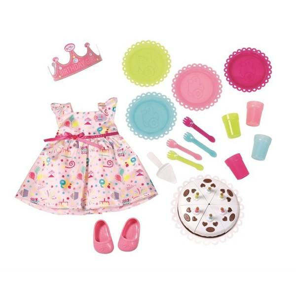 Baby Born Deluxe Party Set