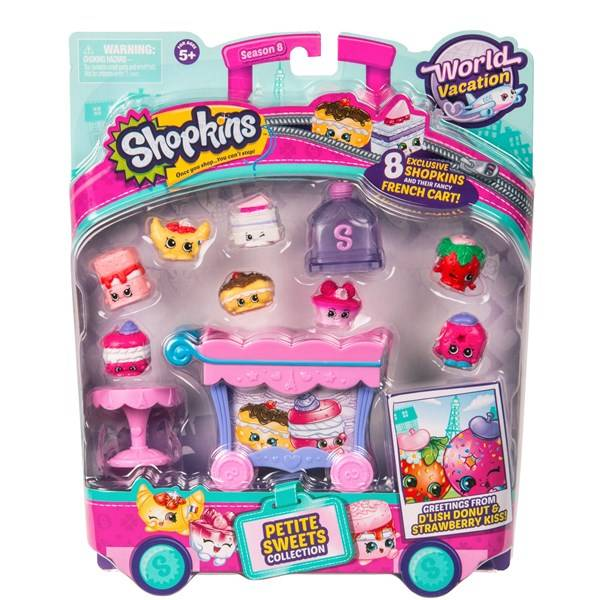 Petite Sweets collection, Shopkins World Vacation Europe