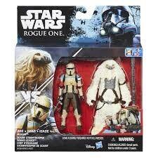 Star Wars Rogue One Delux Figure 2 kpl Moroff & Scarif Stormtrooper