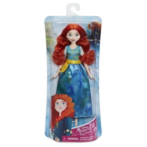 Royal Shimmer Fashion Doll, Merida, Disney Princess