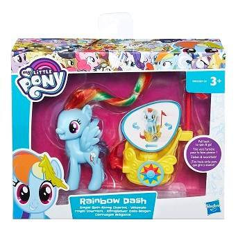My Little Pony Spin Along Charlot Rainbow Dash