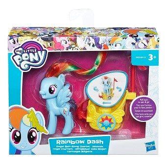 My Little Pony Spin Along Charlot Rainbow Dash