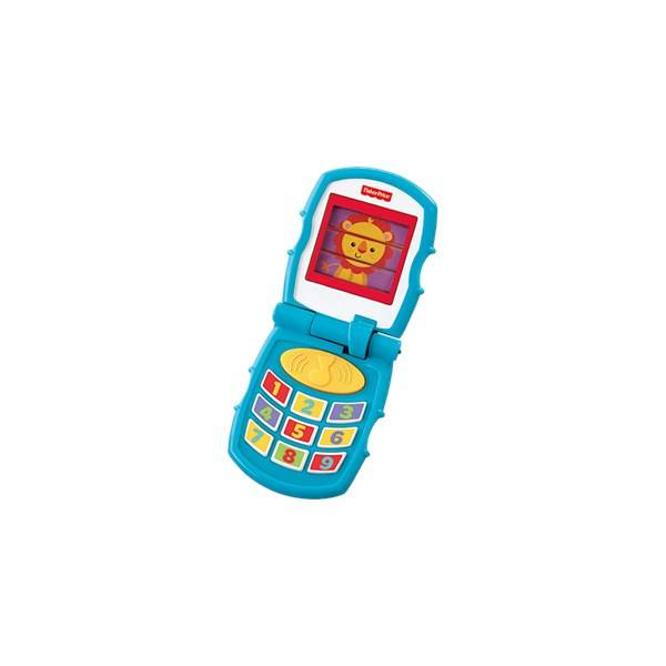 Fisher-Price Friendly Flip Phone, Fisher-Price
