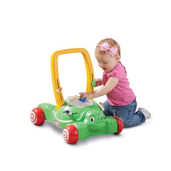 Little Tikes 2-in-1 Push & Play Opi-kävelemään-vaunu