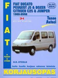 Fiat Ducato, Peugeot J5 & Boxer Citroen C25 & Jumper 1982-2002