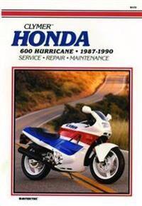 Honda 600 Hurricane 87-90