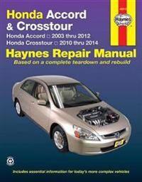 Honda Accord & Crosstour (03-14)
