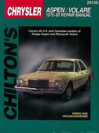 Dodge Aspen/Volare (76 - 80) (Chilton)