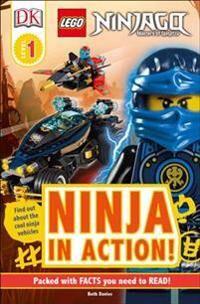 Lego DK Readers L1: Lego Ninjago: Ninja in Action