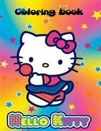 Hello Kitty coloring book: Hello kitty coloring book. An A4 70 page coloring book for kids to enjoy.