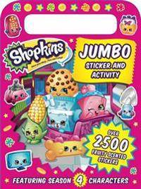 Shopkins Jumbo Sticker and Activity