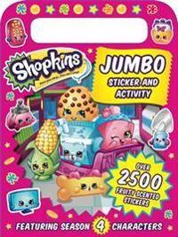 Shopkins Jumbo Sticker and Activity