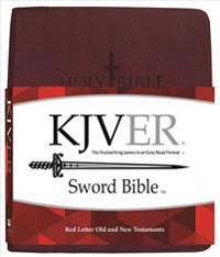 King James Version Easy Read Sword Value Thinline Bible Personal Size Burgundy Ultrasoft
