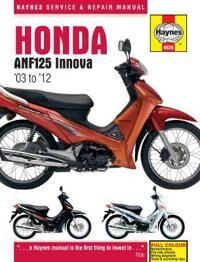 Honda ANF125 Innova Scooter (03 - 12)