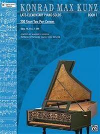 200 Short Two-Part Canons, Op. 14, Bk 1: Nos. 1-100