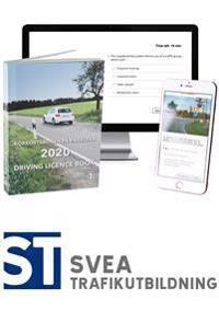 Theory Package 2020: Driving licence book - körkortsboken på engelska & theory questions online