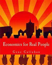 Economics for Real People (Large Print Edition): An Introduction to the Austrian School