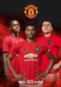 Image of United Manchester United FC 2020 Calendar - Official A3 Wall Format Calendar