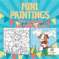 Mini Paintings Color by Number Kids Coloring Books
