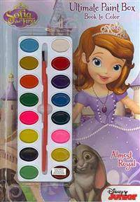 Disney Junior - Sofia the First - Princess in Training: Ultimate Paint Box Book to Color