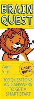 Garmin Brain Quest Kindergarten, Revised 4th Edition: 300 Questions and Answers to Get a Smart Start