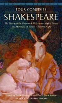 Four Comedies/The Taming of the Shrew/A Midsummer Night