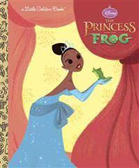 Princess The Princess and the Frog Little Golden Book (Disney Princess and the Frog)
