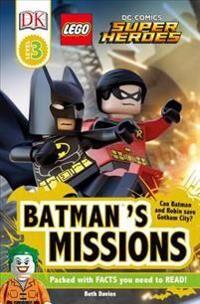 Lego DK Readers L3: Lego(r) DC Comics Super Heroes: Batman