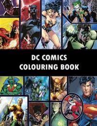 DC Comics Colouring Book: Comic, Comic strip, super heroes, hero, Vilains, The Flash, Wonderwoman, Lex Luthor, Present, Gift, Coloring, Thanksgi