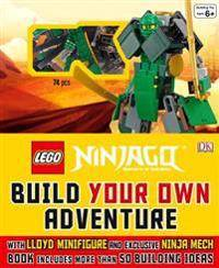 Lego r) Ninjago: Build Your Own Adventure: With Lloyd Minifigure and Exclusive Ninja Merch, Book Includes More Than 50 Buil