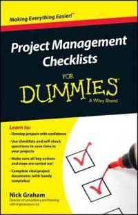 Pro-Ject Management Checklists for Dummies