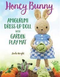 Honey Bunny Amigurumi Dress-Up Doll with Garden Play Mat