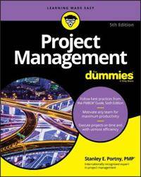 Pro-Ject Management For Dummies
