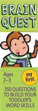 Garmin My First Brain Quest: 350 Questions and Answers to Build Your Toddlers Word Skills